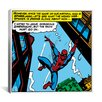 <strong>iCanvasArt</strong> Marvel Comics Spiderman Panel Art D Graphic Art on Canvas