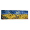 iCanvasArt 'Wheatfield with Crows' by Vincent Van Gogh Painting Print on Canvas