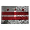 iCanvas Flags Washington, D.C Washington Monument Graphic Art on Canvas