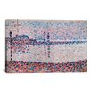 iCanvas 'Study For The Channel At Gravelines' by Georges Seurat Painting Print on Canvas