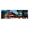 iCanvas Panoramic Temple in a City, Chimi Lhakhang, Punakha, Bhutan Photographic Print on Canvas