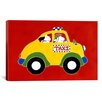 "<strong>iCanvasArt</strong> ""Taxi!"" Canvas Wall Art by Shelly Rasche"