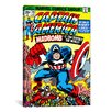 iCanvas Marvel Comics Captain America Issue Cover Graphic Art on Canvas