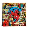iCanvas Marvel Comics Book Spider-Man on Spider-Man Covers and Panels Graphic Art on Canvas