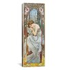 iCanvas Nocturnal Slumber, 1899 Canvas Wall Art by Alphonse Mucha