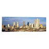 iCanvas Panoramic Fort Worth Skyline Cityscape Photographic Print on Canvas in Multi-color