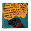 <strong>Dogs Can Only Learn a Few Words Black by Stephen Huneck Graphic Art...</strong> by iCanvasArt