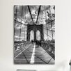 <strong>iCanvasArt</strong> Brooklyn Bridge II (New York City) by Christopher Bliss Photographic Print on Canvas