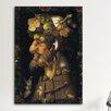 iCanvas 'Autumn' by Giuseppe Arcimboldo Painting Print on Canvas