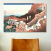 iCanvasArt 'Climbing on Mt. Fuji' by Katsushika Hokusai Painting Print on Canvas