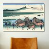 <strong>'Ono Shindon in the Surage Province' by Katsushika Hokusai Painting...</strong> by iCanvasArt