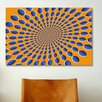 iCanvasArt 'Optical Illusions' by Michael Tompsett Graphic Art on Canvas
