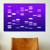 iCanvas 'DNA Genetic Code' by Michael Tompsett Graphic Art on Canvas