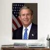 iCanvas Political George W. Bush Portrait Photographic Print on Canvas