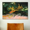 iCanvas 'Fatata Te Miti the Sea 1892' by Paul Gauguin Painting Print on Canvas