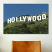 iCanvasArt 'Hollywood Sign' by Chris Bliss Photographic Print on Canvas