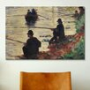 iCanvas 'Anglers' by Georges Seurat Painting Print on Canvas
