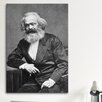 iCanvas Political Karl Marx Portrait Photographic Print on Canvas