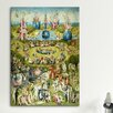 iCanvasArt 'Full Central Panel from the Garden of Earthly Delights' by Hieronymous Bosch Painting Print on Canvas