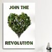 <strong>iCanvasArt</strong> Join the Revolution Vintage Advertisement on Canvas