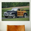 iCanvasArt Cars and Motorcycles 1947 Nash Ambassador Super Suburban Photographic Print on Canvas