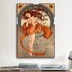 iCanvasArt Art Nouveau Vintage Advertisement on Canvas
