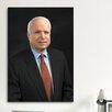 iCanvas Political John Mccain Portrait Photographic Print on Canvas