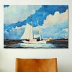 iCanvasArt 'Fishing Schooner, Nassau' by Winslow Homer Painting Print on Canvas