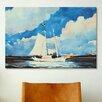 iCanvas 'Fishing Schooner, Nassau' by Winslow Homer Painting Print on Canvas