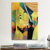 <strong>'Acrobat' by August Macke Painting Print on Canvas</strong> by iCanvasArt