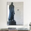 iCanvasArt Political Jefferson Memorial Photographic Print on Canvas