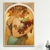 iCanvas 'Fruit' by Alphonse Mucha Painting Print on Canvas