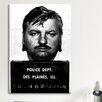 iCanvas Mugshot John Wayne Gacy - Serial Killer Photographic Print on Canvas