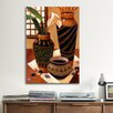 iCanvasArt Still Life with African Bowl by Keith Mallett Painting Print on Canvas