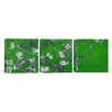 iCanvas Vincent van Gogh Photography Almond Blossom 3 Piece on Canvas Set in Green