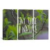 iCanvas Leah Flores Nature by Piece on Canvas Set