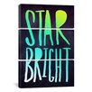 iCanvas Leah Flores Star Bright 3 Piece on Canvas Set