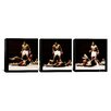 iCanvas Muhammad Ali Vs. Sonny Liston 3 Piece on Canvas Set