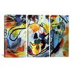 iCanvas Wassily Kandinsky The Last Judgment 3 Piece on Canvas Set