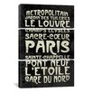 iCanvasArt Erin Clark Paris 3 Piece on Canvas Set