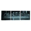 iCanvas Leonardo da Vinci The Last Supper III 3 Piece on Canvas Set