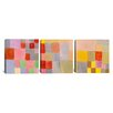 iCanvas Paul Klee Flora on The Sand 3 Piece on Canvas Set