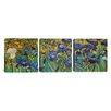 iCanvas Vincent van Gogh Irises 3 Piece on Canvas Set