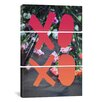 iCanvasArt Leah Flores Xoxo 3 Piece on Canvas Set