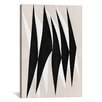 iCanvas Modern Art Zebra Print Tribal Paint Graphic Art on Canvas