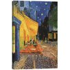 iCanvas The Cafe Terrace on the Place du Forum, Arles, at Night 1888 by Vincent Van Gogh Painting Print on Canvas