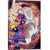 iCanvas Virgin by Gustav Klimt Painting Print on Canvas