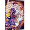 iCanvas Virgin by Gustav Klimt Painting Print on Canvas