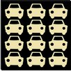 iCanvas Beep Beep Cars Canvas Wall Art