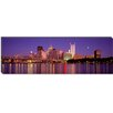 iCanvas Panoramic Allegheny River, Pittsburgh, Pennsylvania Photographic Print on Canvas
